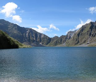 Guided Full Day Hike to Mt. Pinatubo Crater Lake with 4x4 Ride