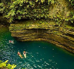 Badian Canyoneering and Kawasan Falls Adventure | Private Day Trip from Cebu