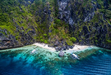El Nido Island Hopping Day Tour C | Islands and Beaches