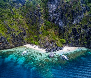 El Nido's Best Beaches I Full-Day Island Hopping Tour C with Lunch