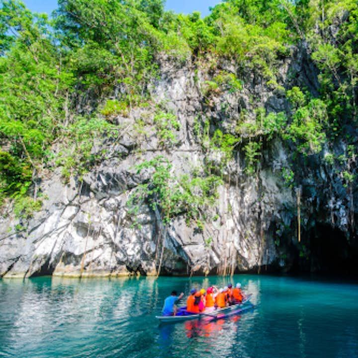 Entrance of Puerto Princesa Underground River