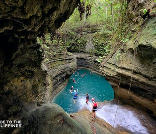Kawasan Canyoneering Water Adventure | With Lunch and Transfers from Cebu