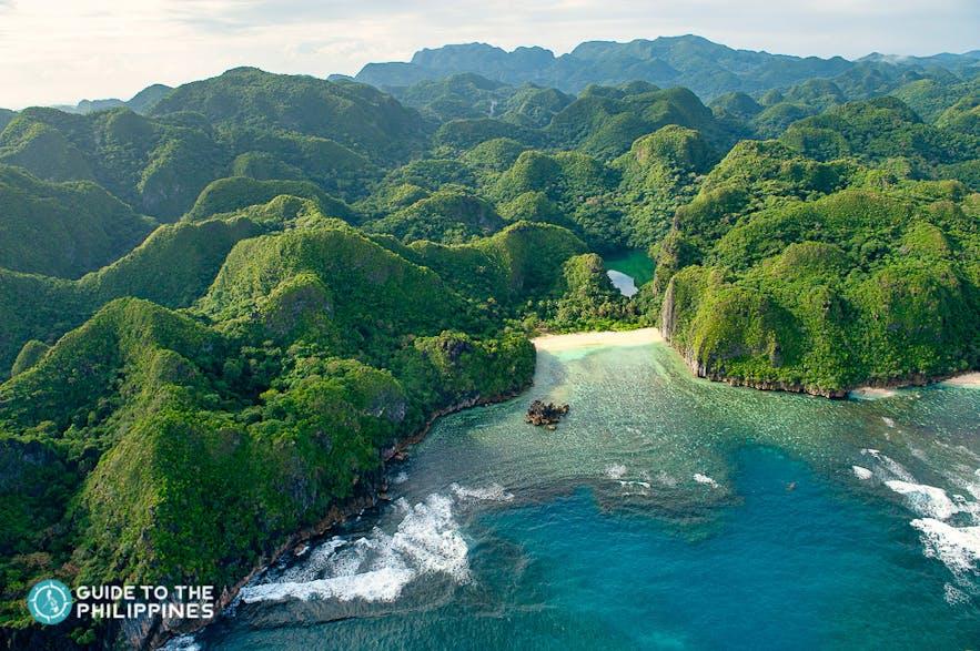 Caramoan Islands in Camarines Sur, Philippines