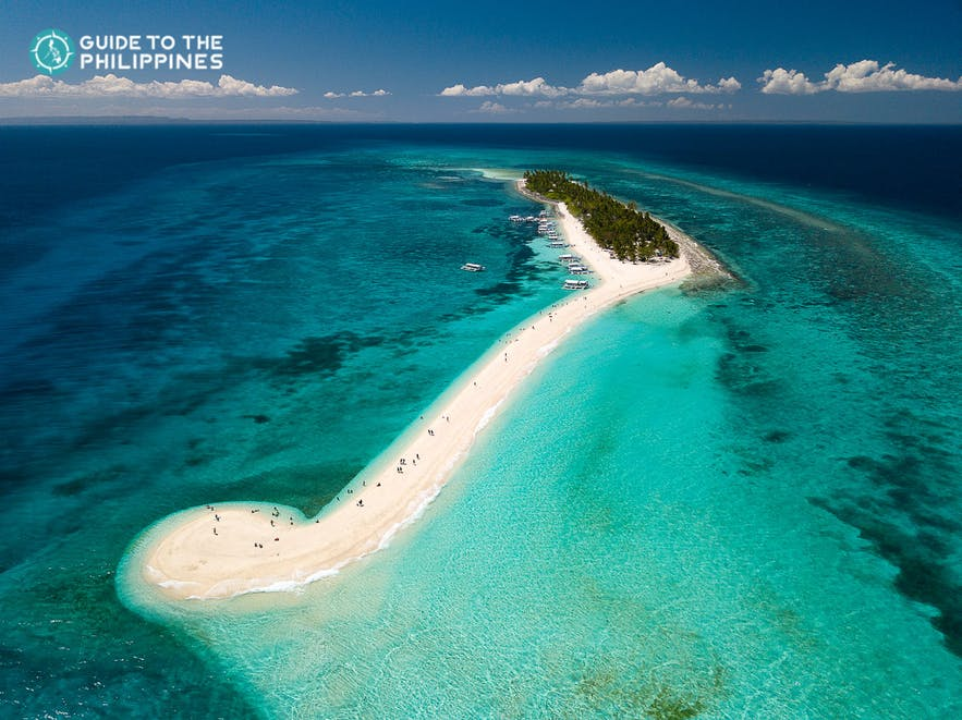 Kalanggaman Island in Leyte, Philippines