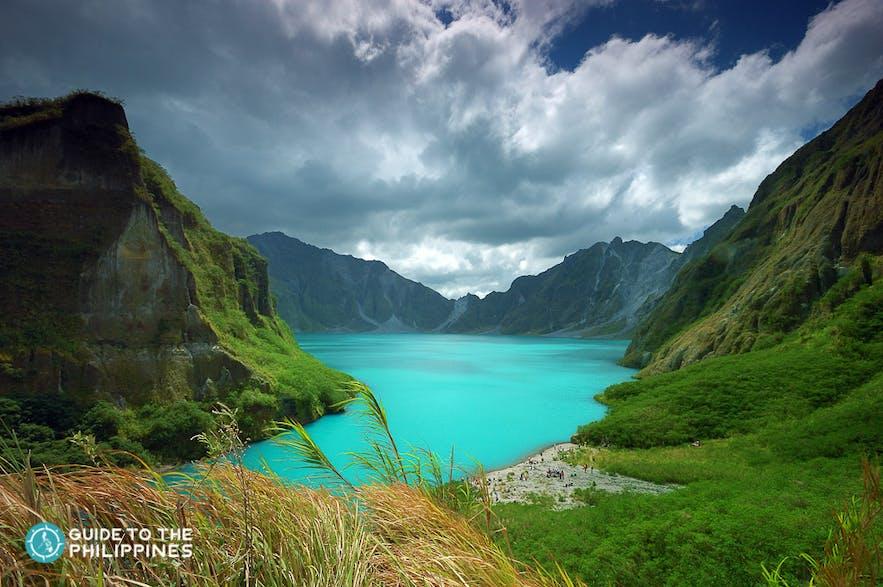 Mount Pinatubo crate lake