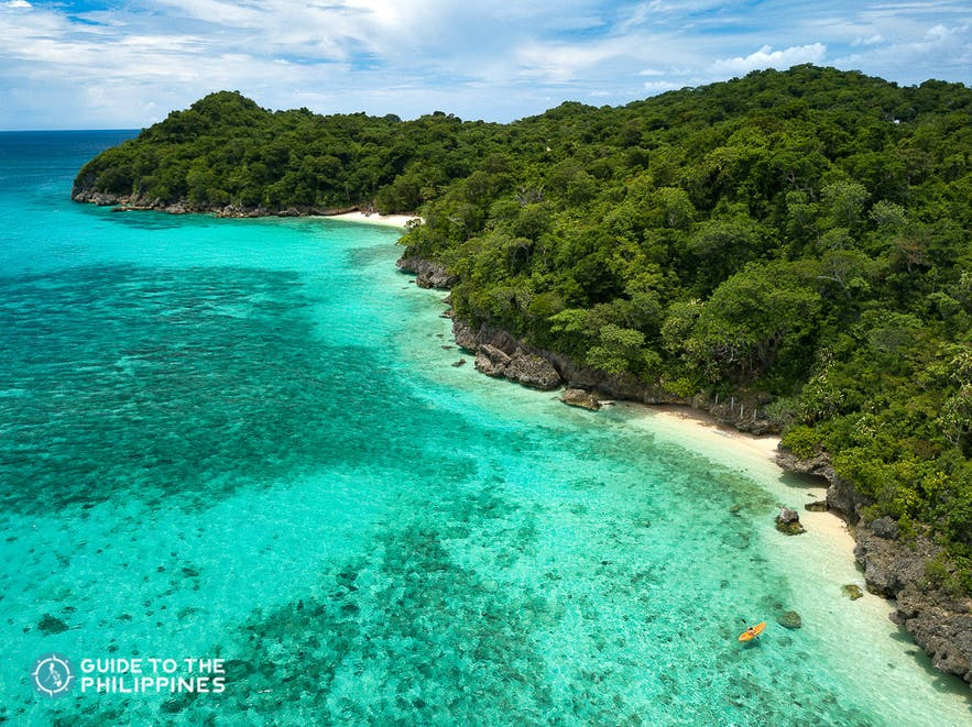 Puka Shell Beach in Boracay Island