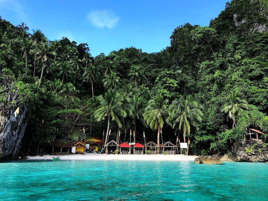 Bitaog Beach in Dinagat Islands