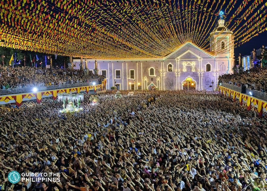 Sinulog Festival in Cebu, in honor of the Santo Niño