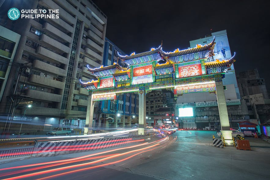 Binondo Chinatown in Manila, Philippines