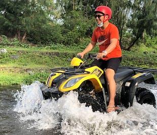 Mayon Volcano Legazpi ATV Ride: Black Lava Wall Trail with Guide