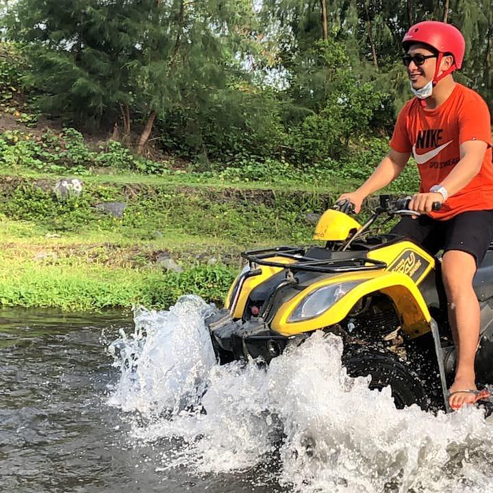 ATV ride experience in Albay