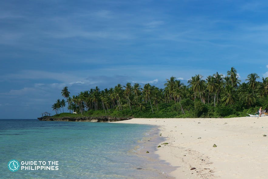 Bakhaw Beach in Camotes Island