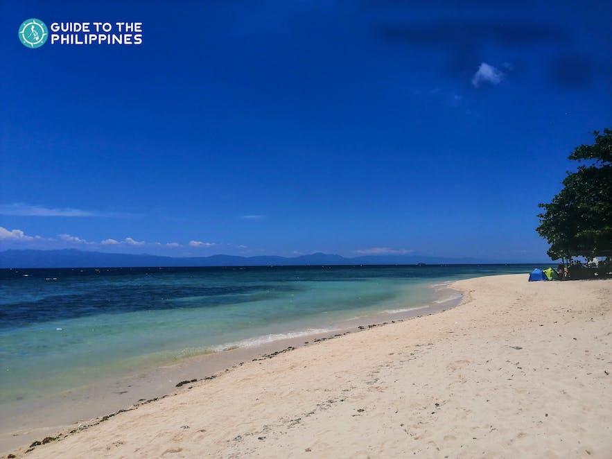 Lambug Beach in Badian, Cebu, Philippines