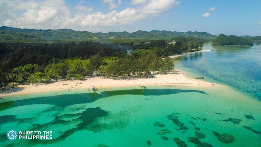 Anguib Beach in Santa Ana, Cagayan, Valley, Philippines