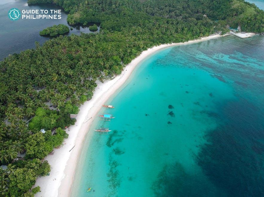 Subic Beach in Sorsogon, Philippines