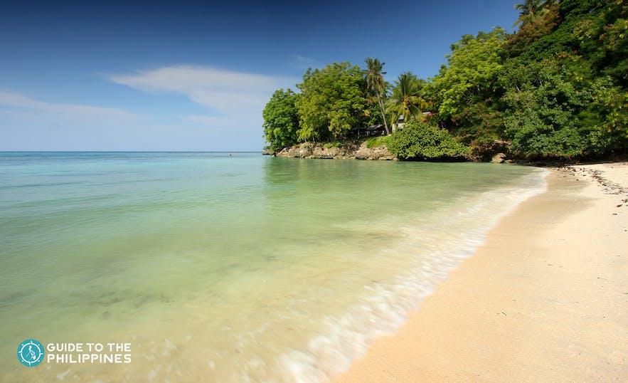 Gumasa Beach in Sarangani, Philippines