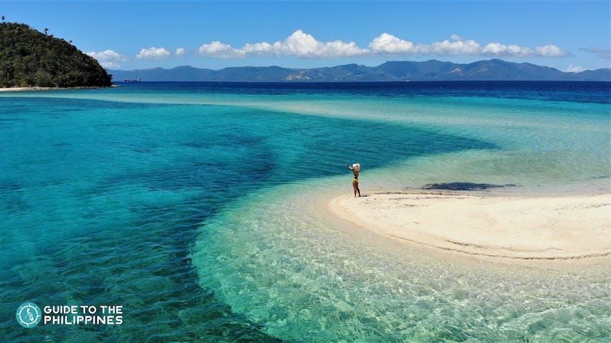 Bonbon Beach in Romblon, Philippines