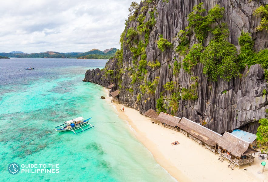 Banol Beach in Coron, Palawan, Philippines