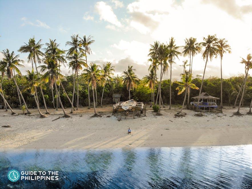 Paliton Beach in Siquijor, Philippines