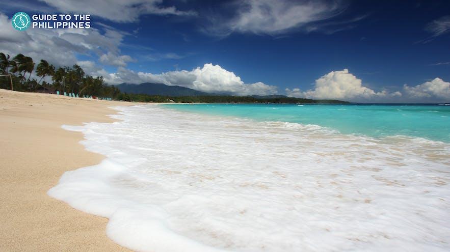 Dahican Beach in Mati, Davao Oriental, Philippines