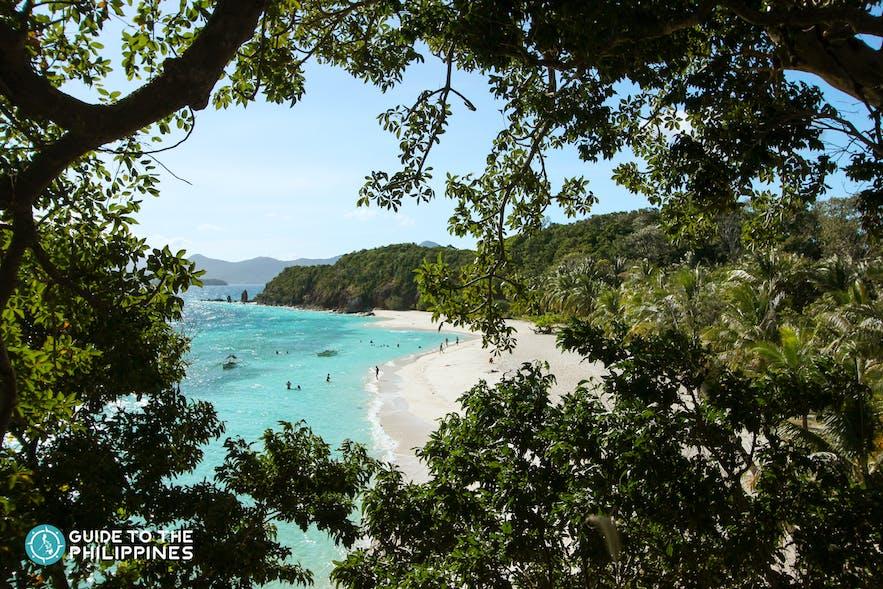 Malcapuya Beach in Coron, Palawan, Philippines