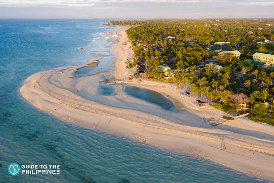 Kota Beach in Bantayan Island, Cebu, Philippines