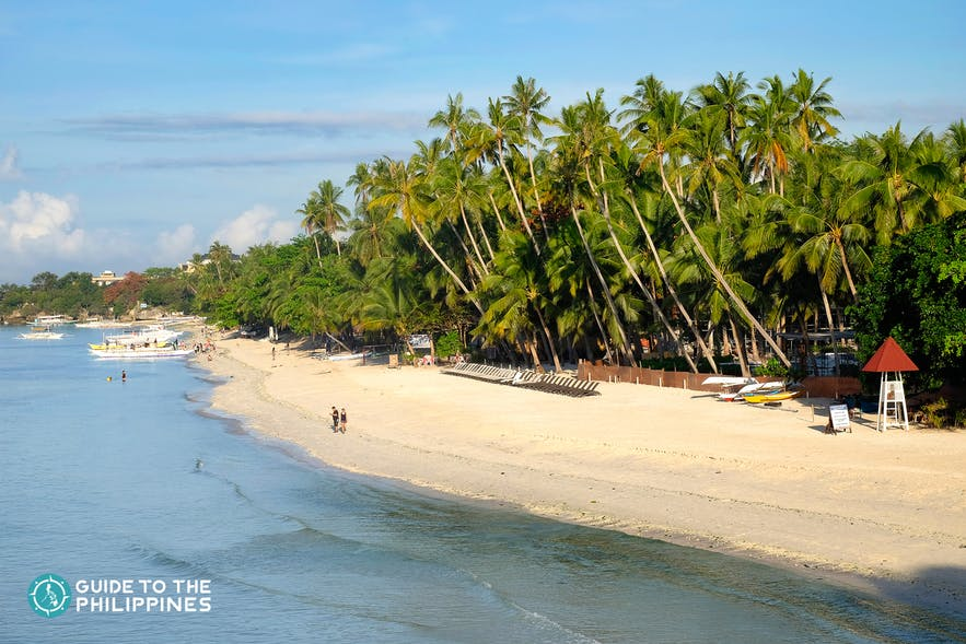 Alona Beach in Panglao Island, Bohol, Philippines