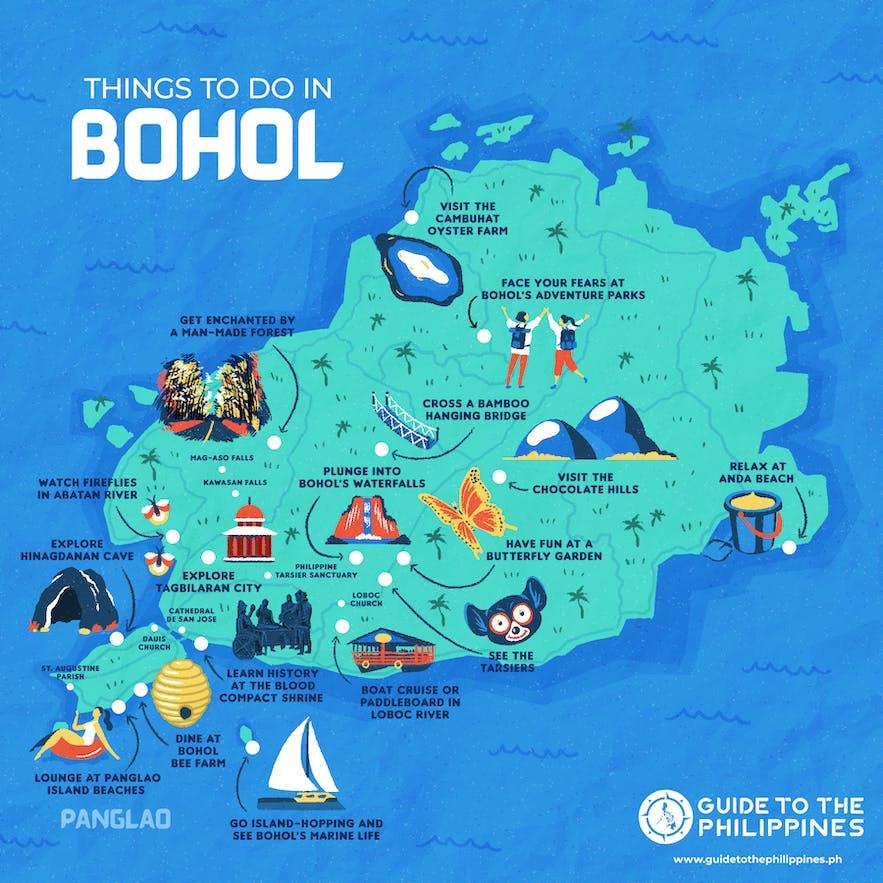 18 Best Tourist Spots In Bohol Philippines