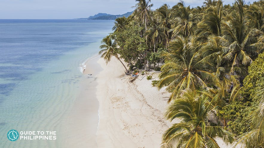 Alegria Beach in Siargao Island, Philippines
