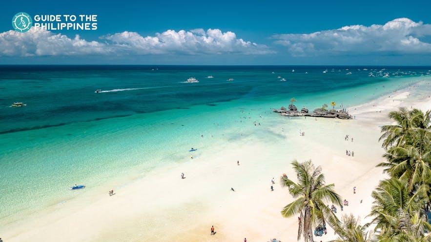 White Beach in Boracay, Philippines