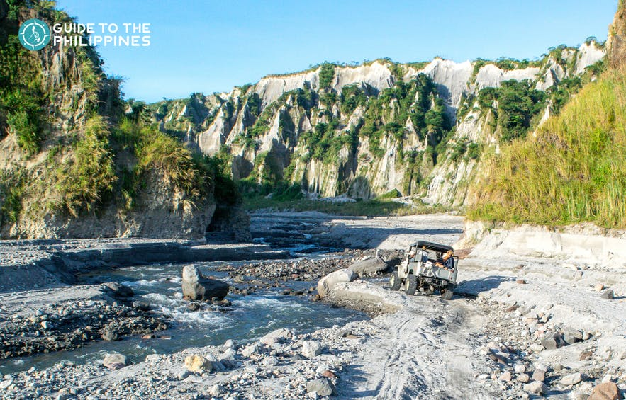 Mt. Pinatubo 4x4 trail ride in Tarlac, Philippines