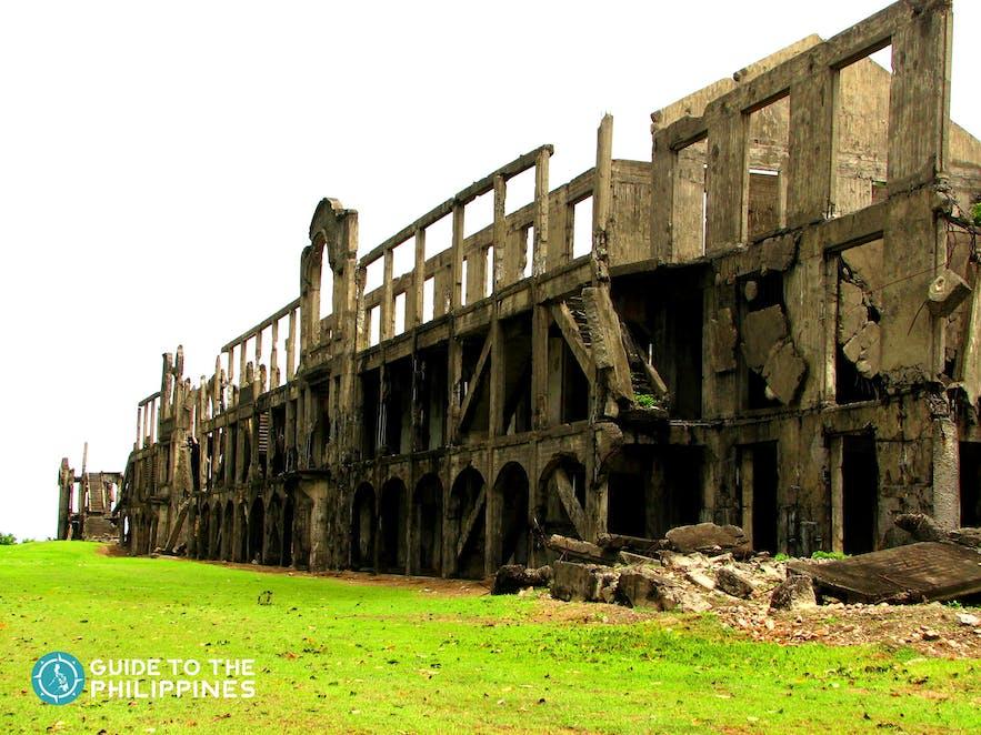 Ruins of Corregidor Island in Cavite, Philippines