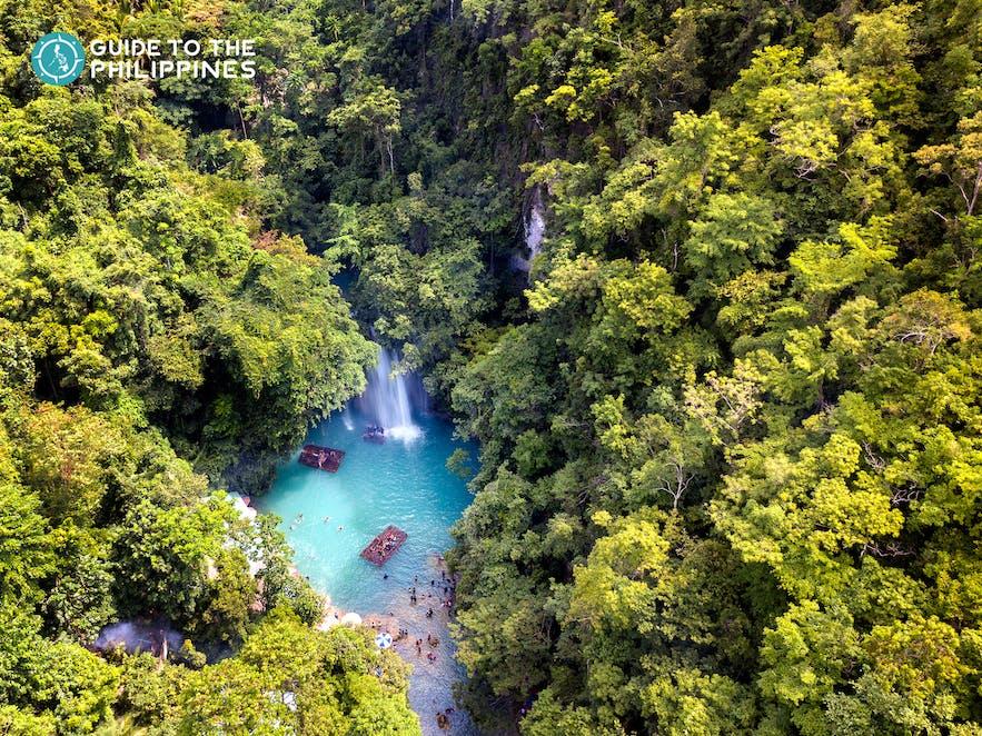 Kawasan Falls in Cebu