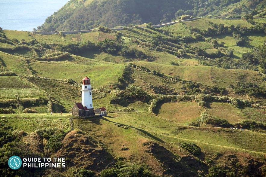 Batan Lighthouse in Batanes, Philippines