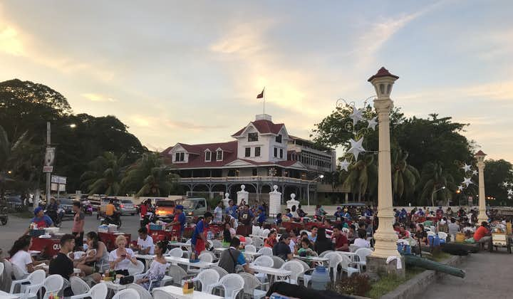 Seating Area at Silliman University Campus