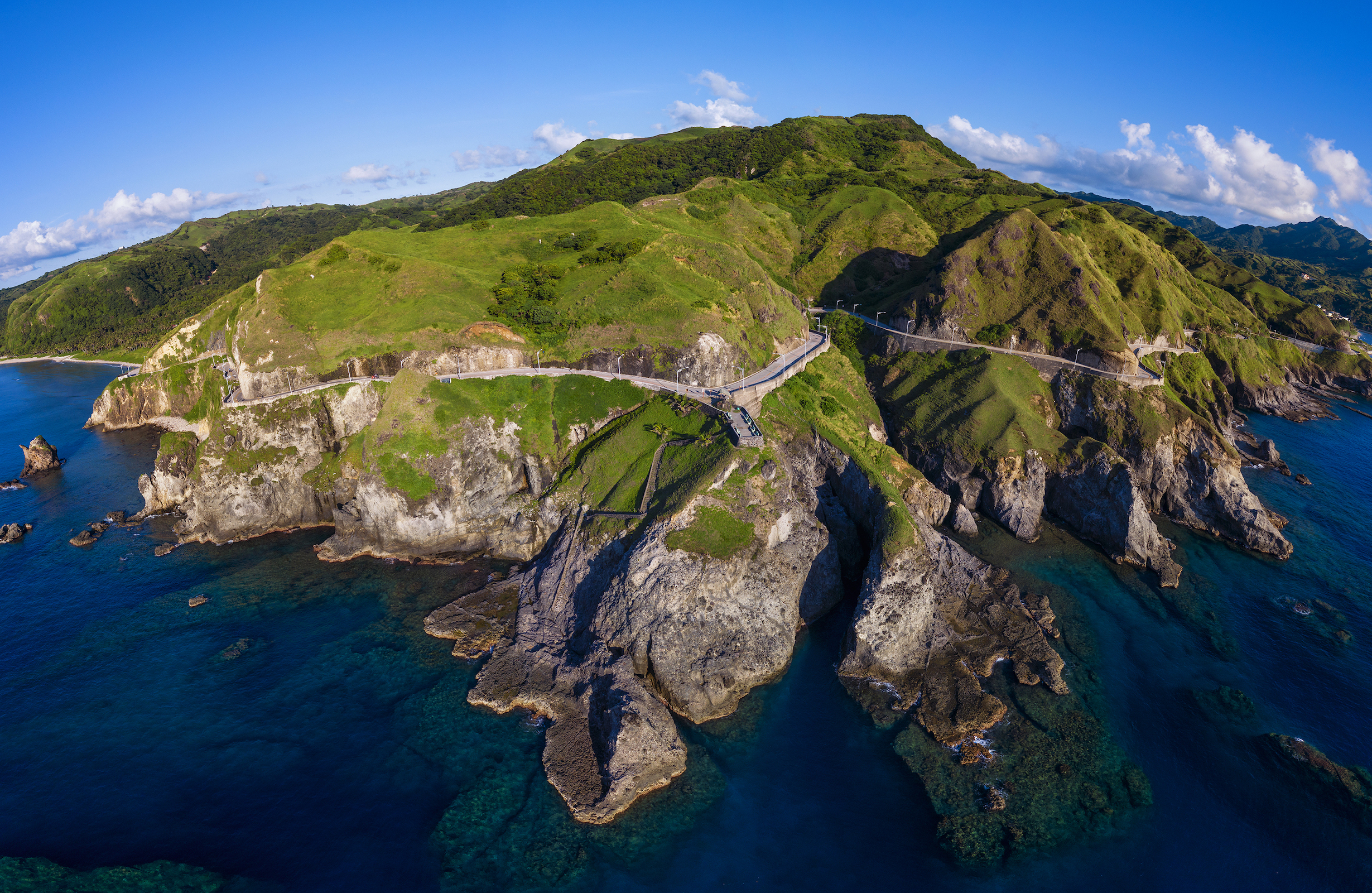 Top view of Batanes