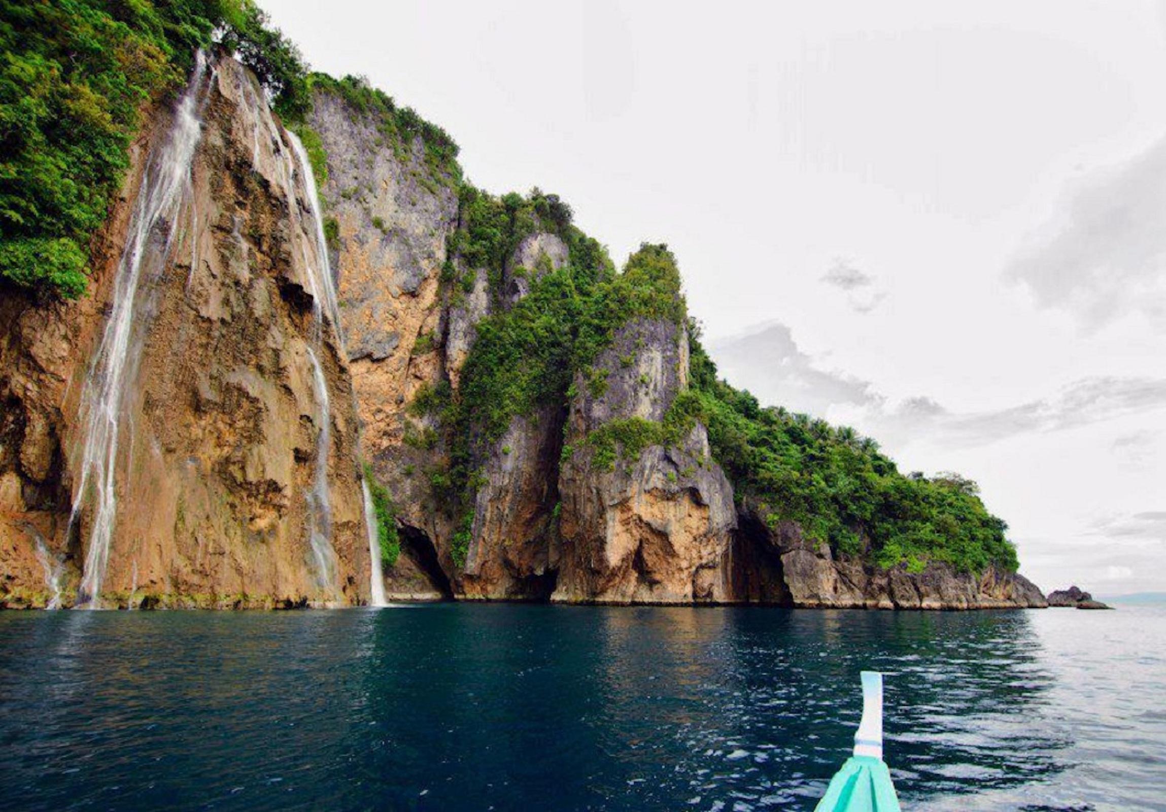 Katandayagan Falls in Ticao Island