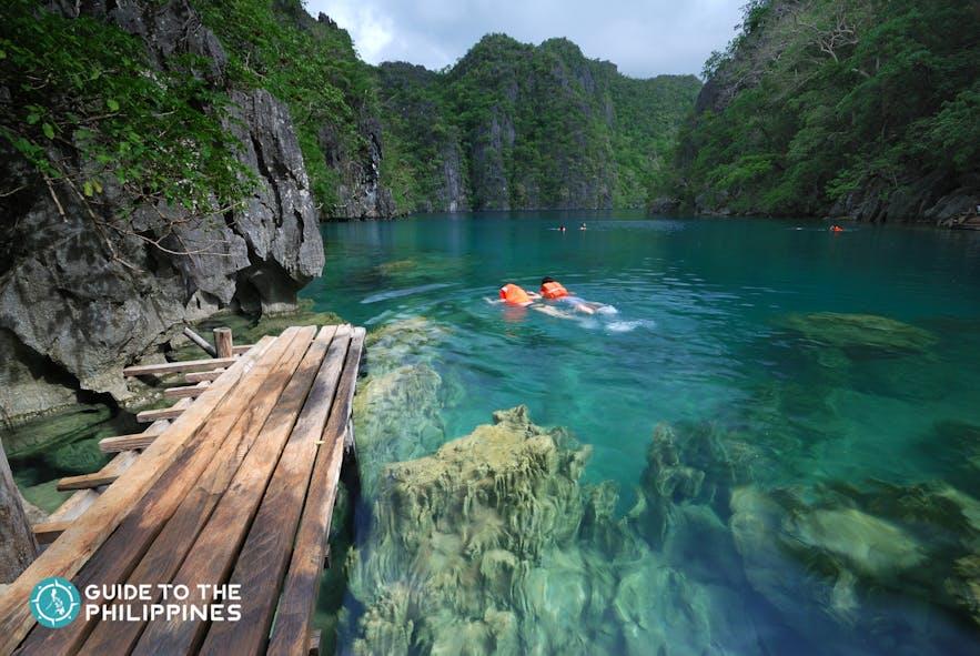 Kayangan Lake in Coron, Palawan, Philippines