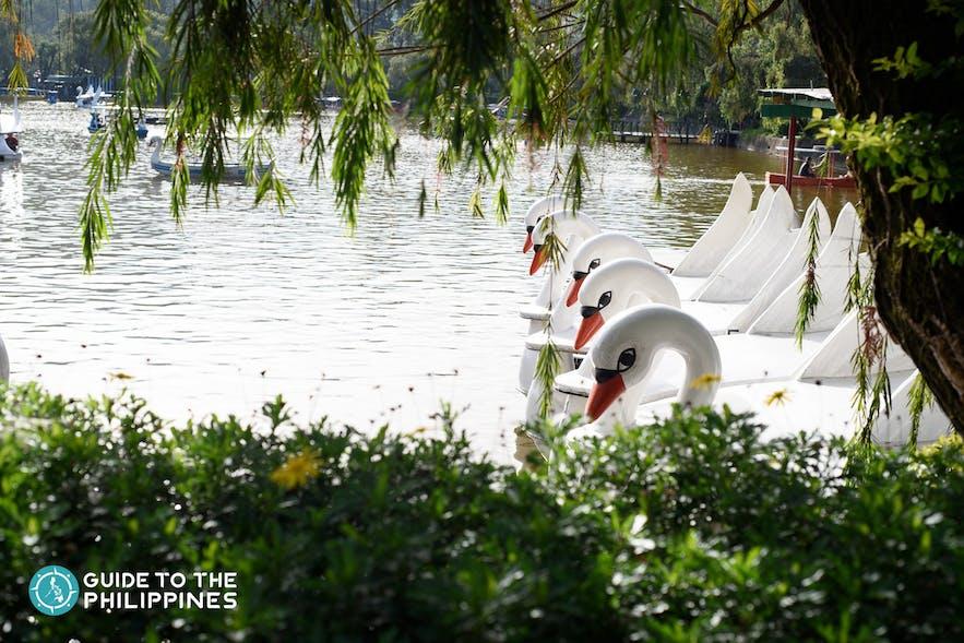 Burnham Park in Baguio City, Philippines