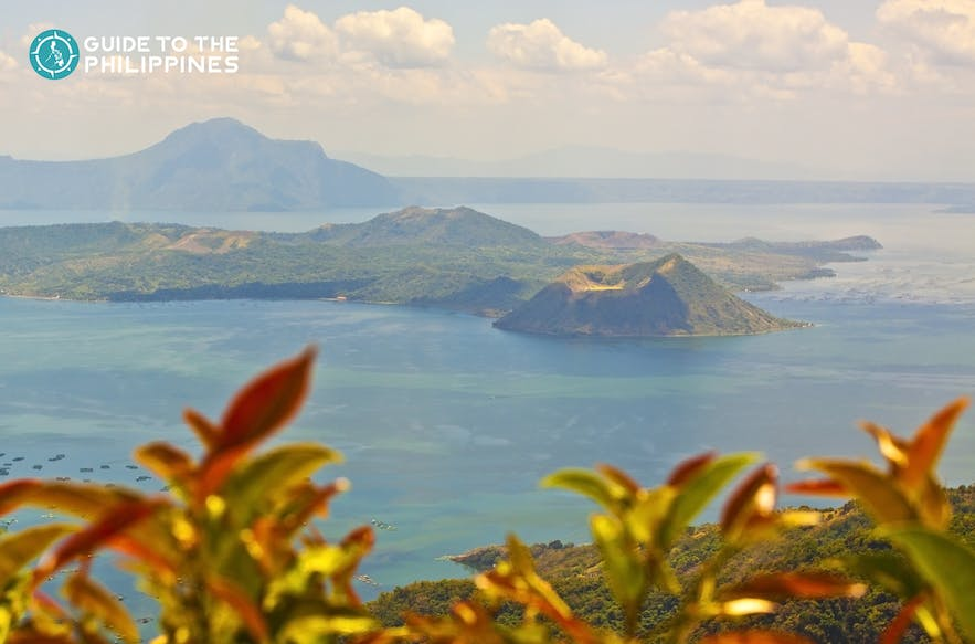 Taal Volcano and Lake in the Philippines