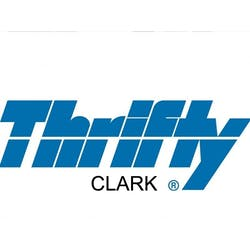 Thrifty Car Rental - Clark logo