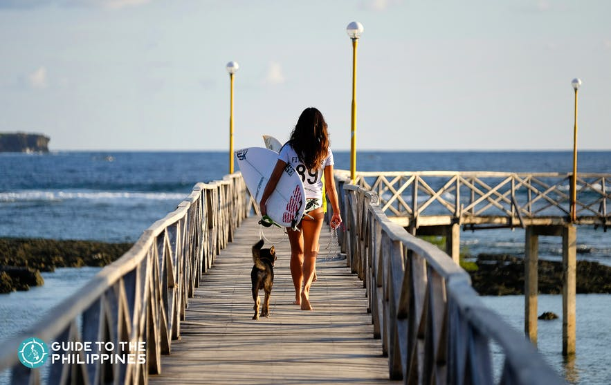 Siargao Cloud 9 Boardwalk