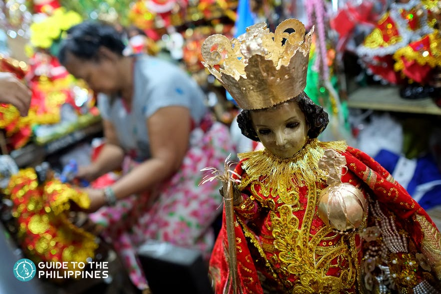 Santo Nino de Cebu or Statue of the baby Jesus