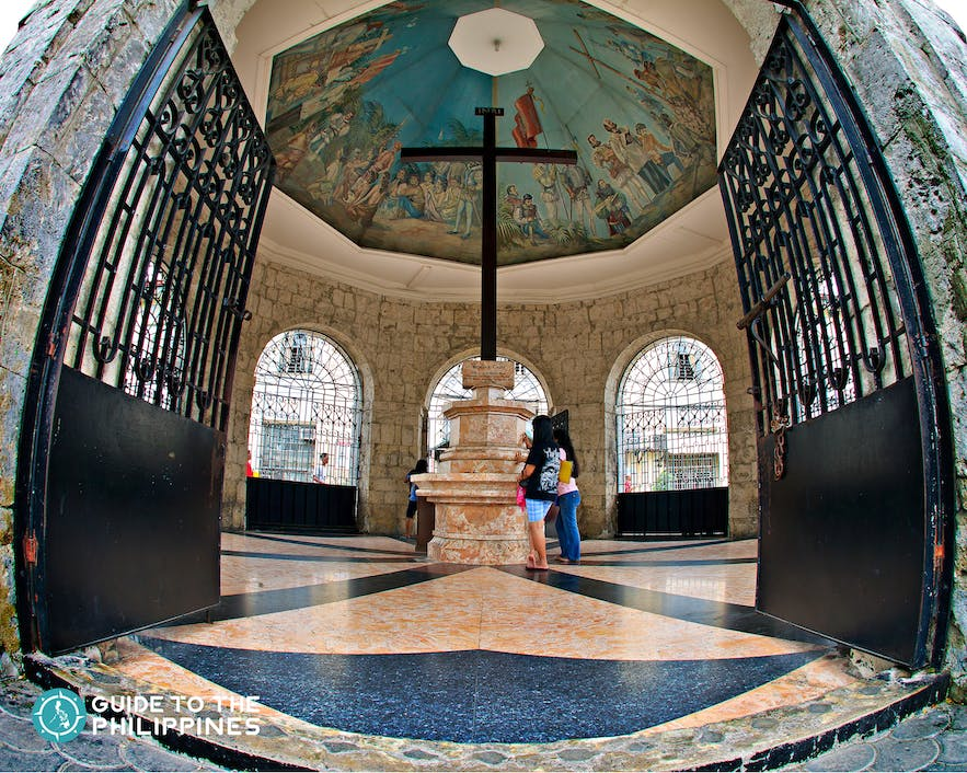 Magellan's Cross in Cebu City, Cebu, Philippines