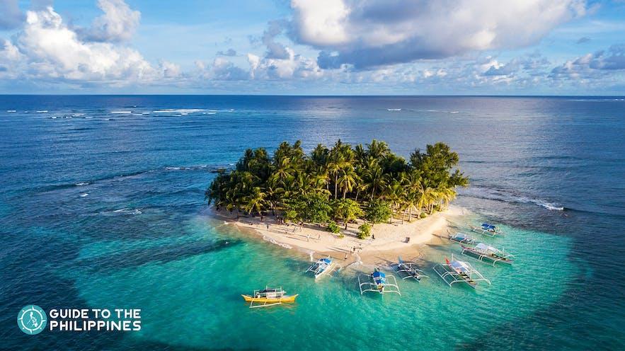 Guyam Island in Siargao, Philippines
