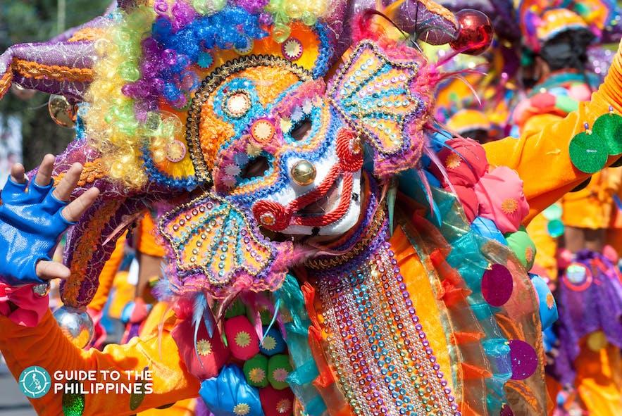 annual masskara festival in bacolod city