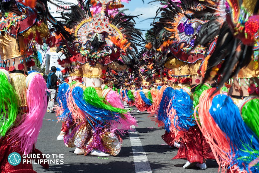 yearly dance competition in masskara festival