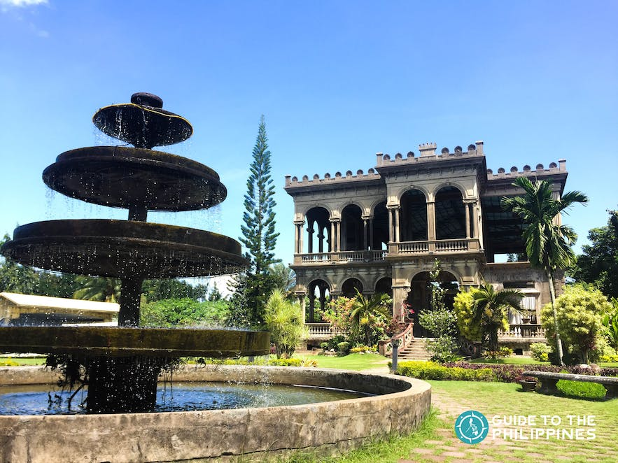 The Ruins located in Talisay City, near Bacolod City
