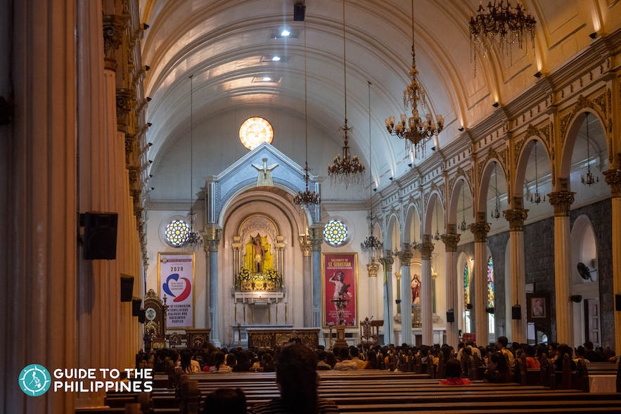 San Sebastian Cathedral in Bacolod.