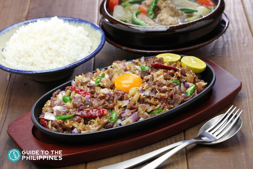Pork Sisig, a typical Kapampangan cuisine that inspired local dishes in Bataan